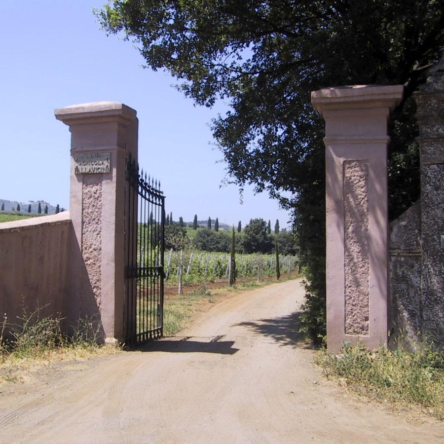 ingresso marmorelle cancello